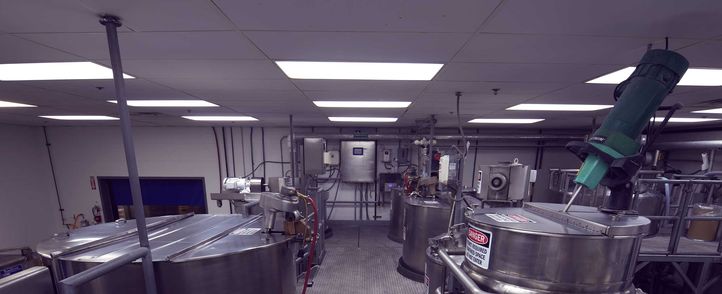 Chemical Blending Room in Greenville, South Carolina