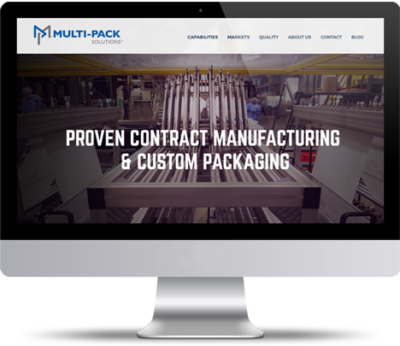 Contract Packaging Website