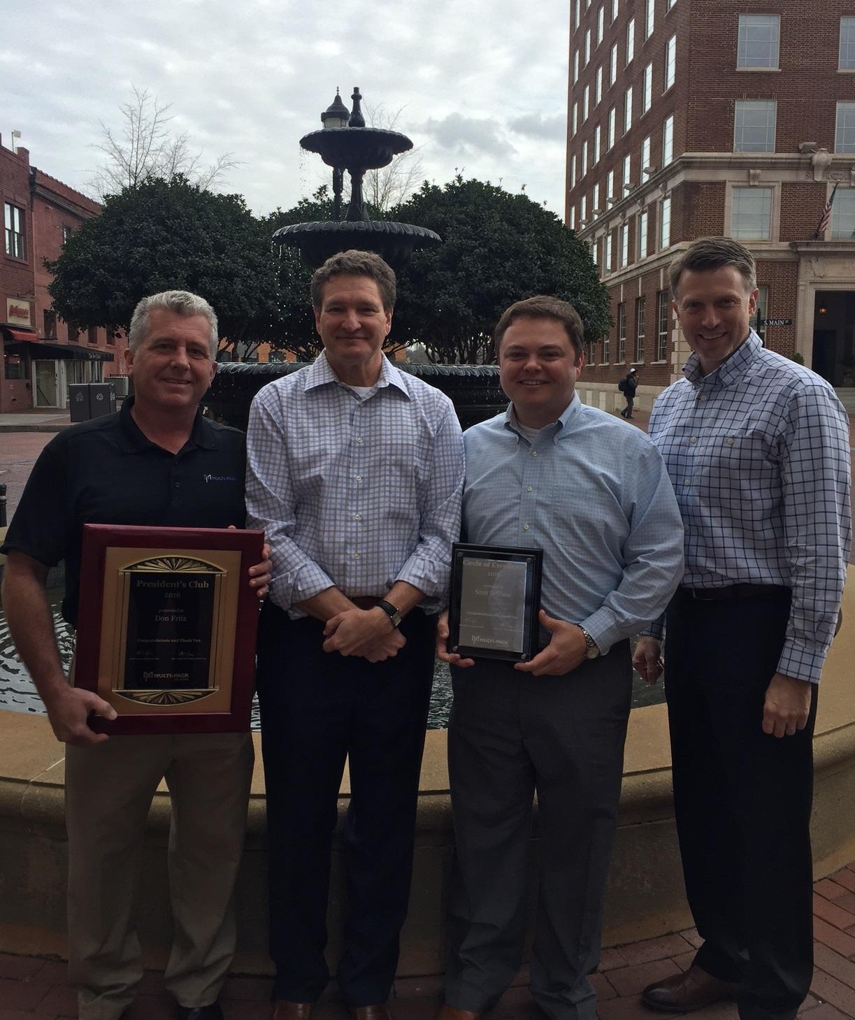 2016 Sales Award Winners Announced